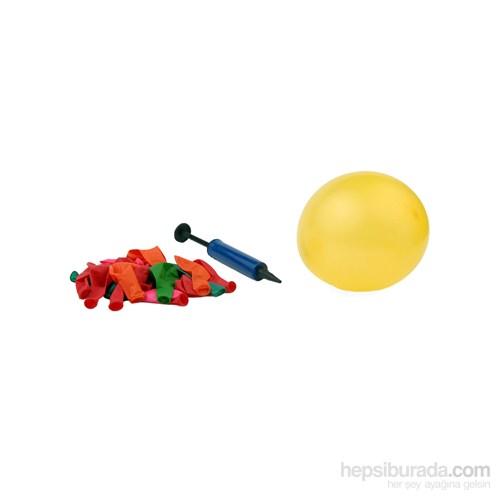 20li Balon Seti ve Pompa