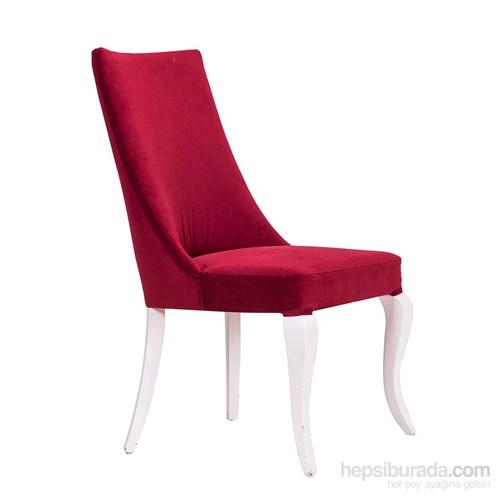 3A Mobilya Red Fire Sandalye - Kırmızı