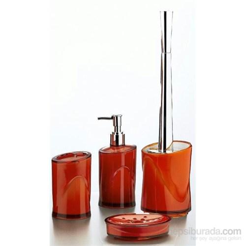 Hiper 4'Lü Banyo Seti Kahverengi