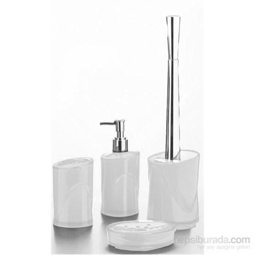 Hiper 4'Lü Banyo Seti Beyaz
