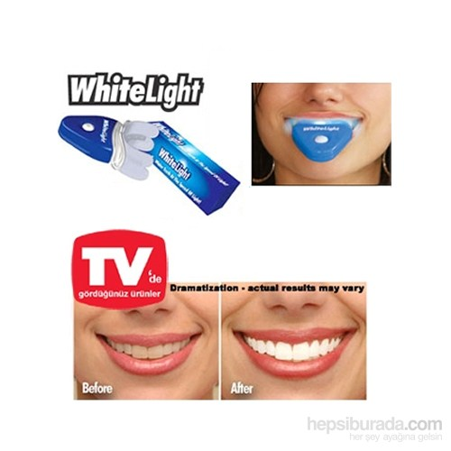 Diş Beyazlatma Ve Parlatma Seti White Light