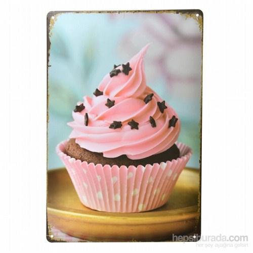 Decotown Cup Cake Metal Levha 20*30-6170