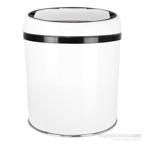 Hiper Sensörlü Çöp Kovası 6 Lt. Beyaz