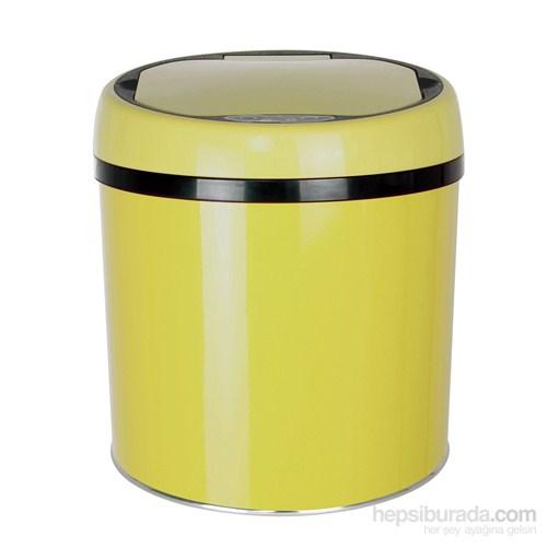 Hiper Sensörlü Çöp Kovası 6 Lt. Sarı