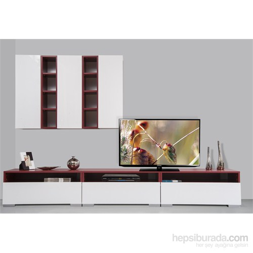 Kenyap Plus 813994 Diamond Tv Ünitesi Bordo