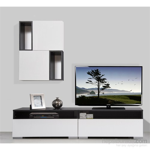 Kenyap Plus 813888 Diamond Tv Ünitesi Siyah