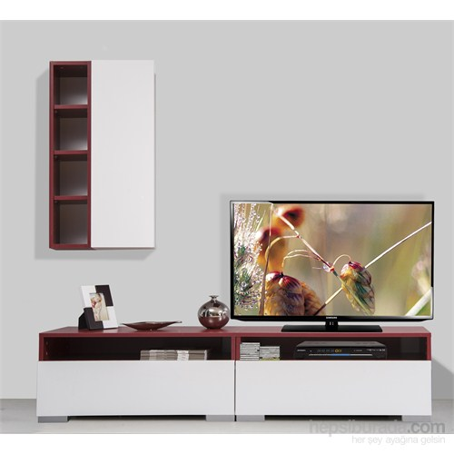 Kenyap Plus 814069 Diamond Tv Ünitesi Bordo