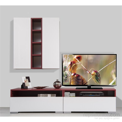 Kenyap Plus 814076 Diamond Tv Ünitesi Bordo