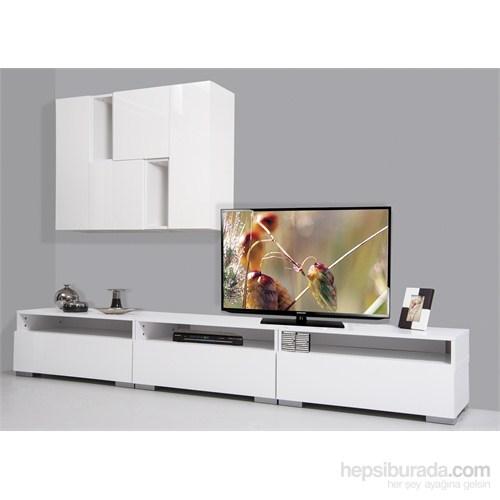 Kenyap Plus 813722 Diamond Tv Ünitesi-Beyaz