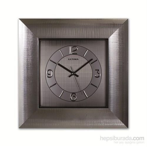 Gümüş Varak Duvar Saati