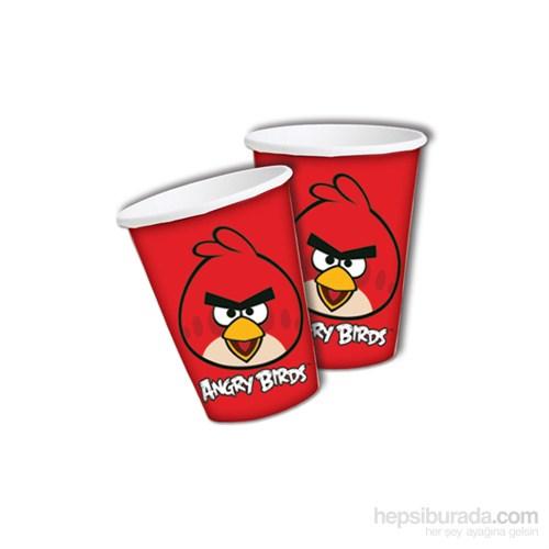 Angry Bırds Klasik Bardak 180/200Cc (8 Ad)