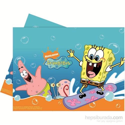 Sponge Bob Surfıng Masa Örtüsü 120X180 Cm