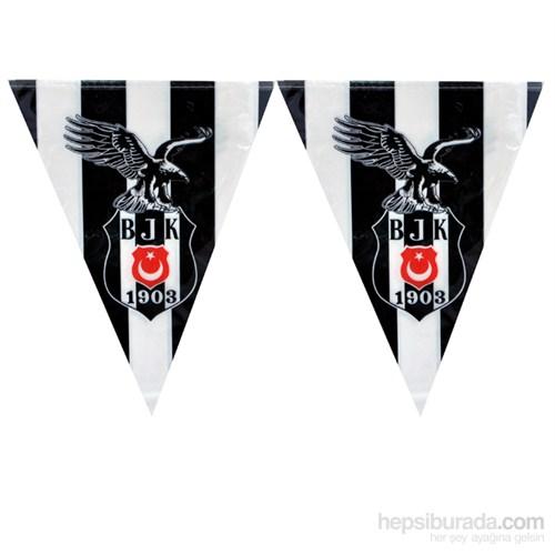 Beşiktaş Üçgen Bayrak Set