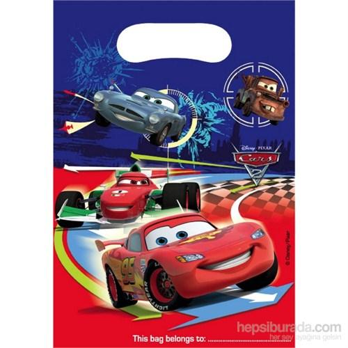 Cars 2 Parti Çantası (6 Ad)
