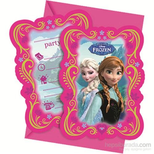 Frozen Davetiye (6 Ad)