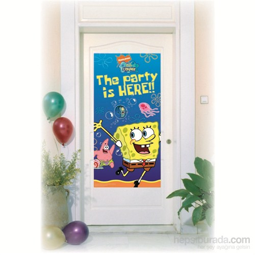 Sponge Bob Kapı Banner