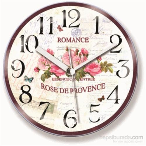Bombe Camlı Mıknatıslı Saat