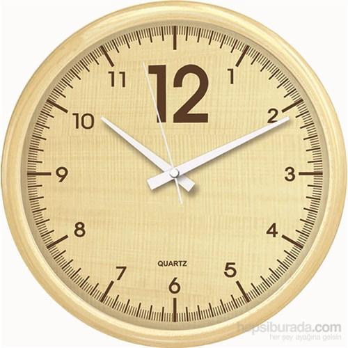 40 Cm Krem Çerçeve Duvar Saati