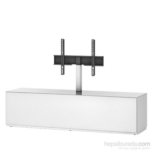 Sonorous St 161F-Wht Beyaz Kaplama ,Dolaplı Askı Aparatlı Tv Sehpası