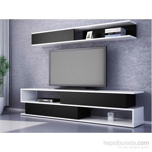 Kapisko Tv Ünitesi -Siyah-Beyaz