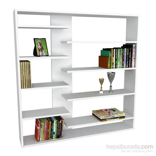Dekorister Handy Kitaplık Beyaz