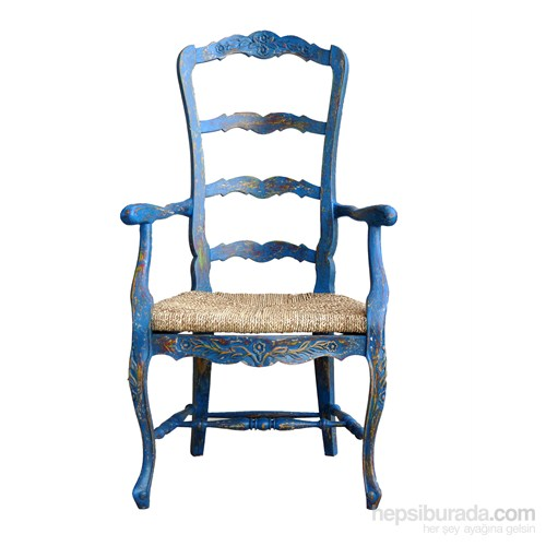 Champıon Mavi Kolçaklı Sandalye