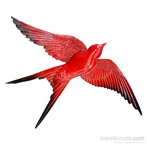 Kırmızı Renkli Üçlü Kırlangıç