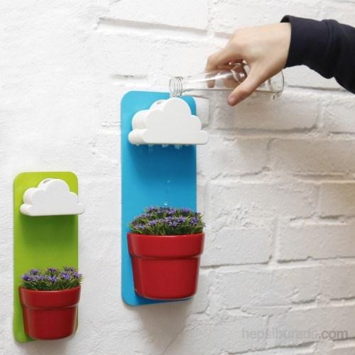 Practika Kendinden Çiçek Sulayan Bulut Saksı