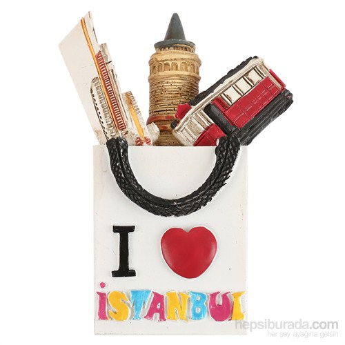 I Love İstanbul Magnet