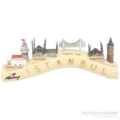 Stand Üzerinde İstanbul Tarihi Mekanlar Maketi
