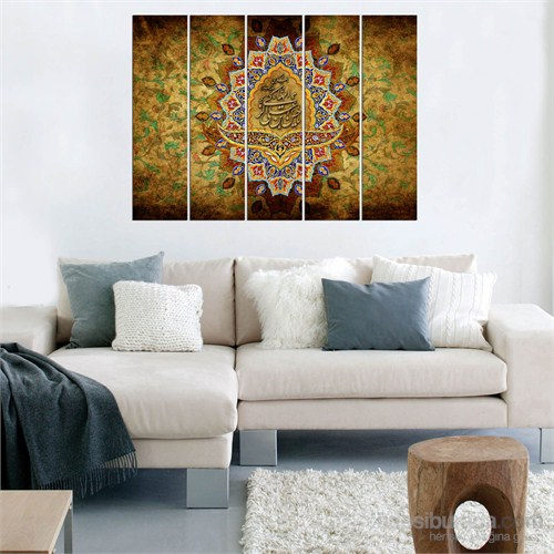 Dekorjinal 5 Parçalı Dekoratif Tablo Vsrm053