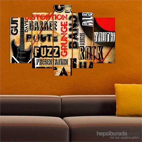5 Parçalı Dekoratif Tablo Y5tp076