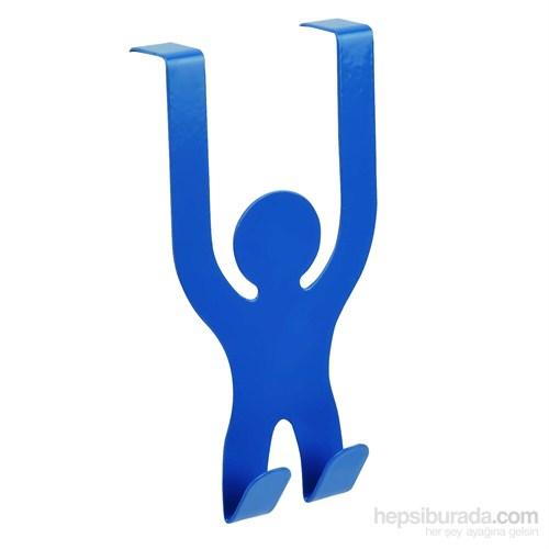 Adam Asmaca Çok Amaçlı Askı Mavi