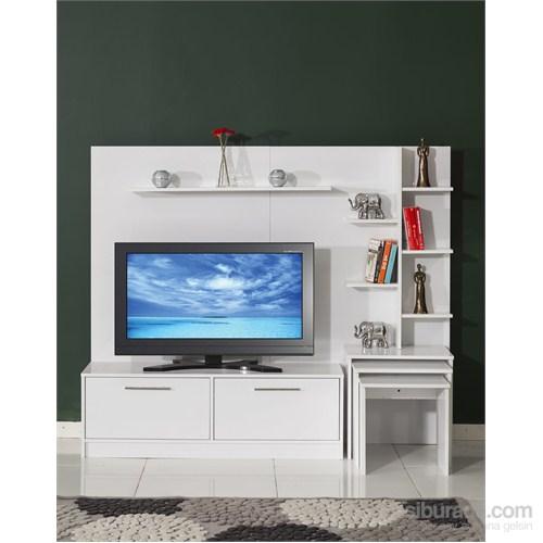 Moda Life Mobetto Versace Tv Ünitesi Beyaz