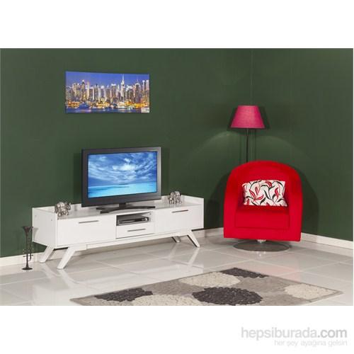 Moda Life Mobetto Özge Tv Sehpası (Alt Modül) Beyaz