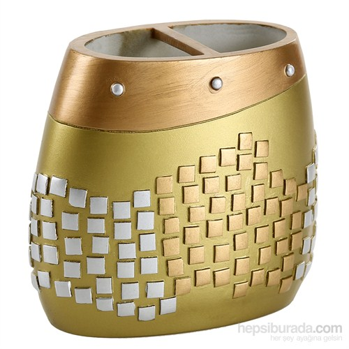 Bosphorus Altın Mozaik Diş Fırçalık