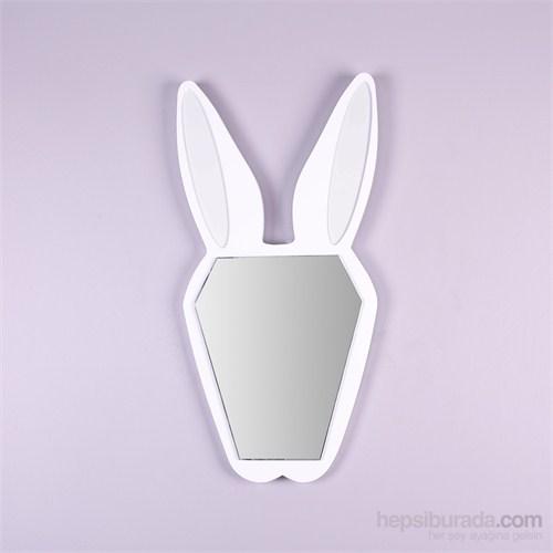 Bugsy Tavşan Şekilli Ayna Beyaz