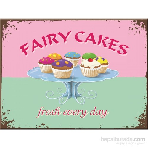 Fairy Cakes- Fresh Every Day Magnet 6x8 cm