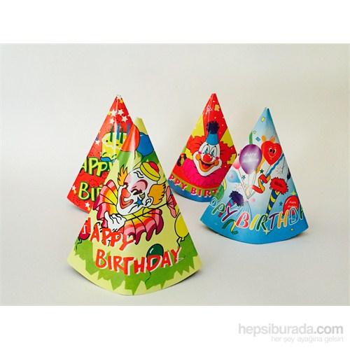 Trio Parti Şapkası 4 Adet