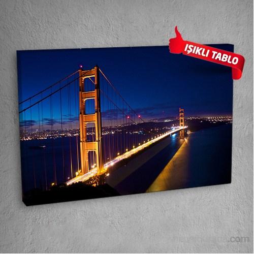 Köprü-Dm101 Led Işıklı Kanvas Tablo 50X70 Cm