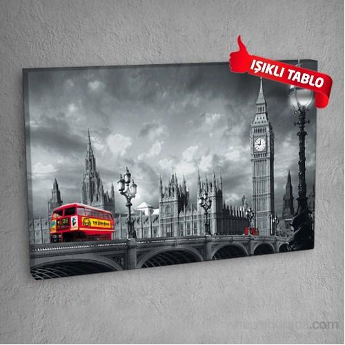 Londra-Dm6542- Led Işıklı Kanvas Tablo 50X70 Cm