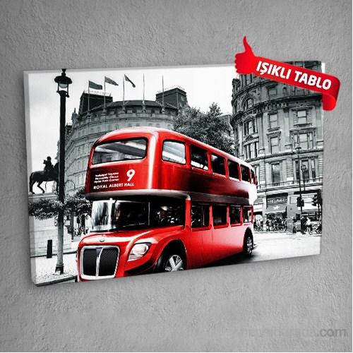 Londra-Dm6544 Led Işıklı Kanvas Tablo 50X70 Cm