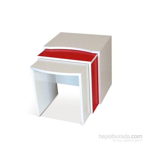 Prado Twist Zigon Kırmızı Beyaz