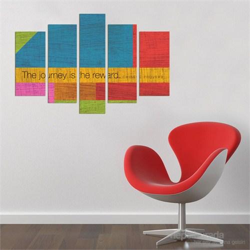 5 Parçalı Dekoratif Tablo DEC066
