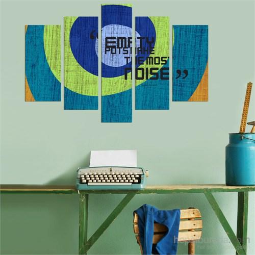 5 Parçalı Dekoratif Tablo DEC068