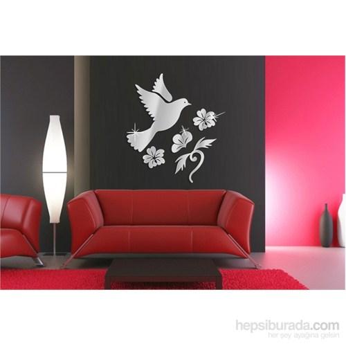 Güvercin Çiçek Dekoratif Ayna