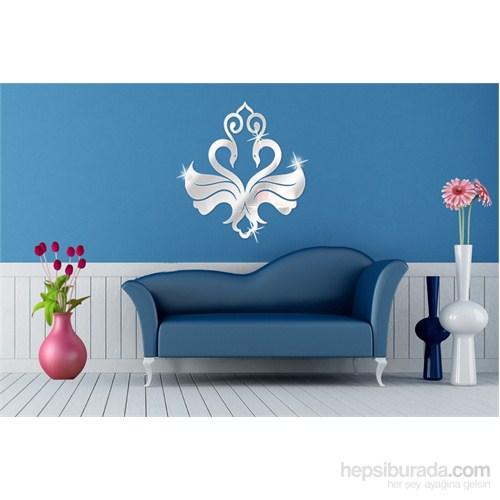 Simetrik Kuğu Dekoratif Ayna
