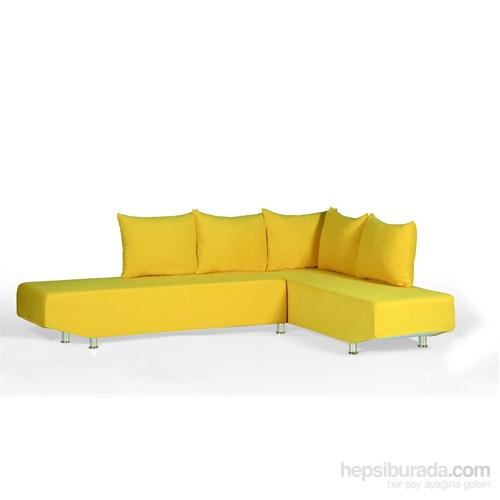 Sigma Tasarım Venedik Köşe Koltuk Sarı