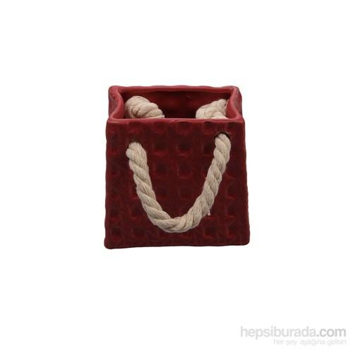 Evino Mini Srmk Çanta Modelsaksı Kırmızı