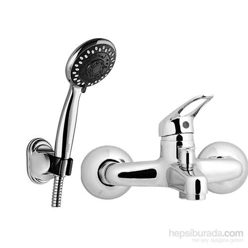 Güven Azra Banyo Bataryası Ve Mafsallı Duş Takımı